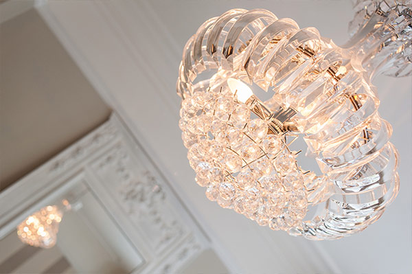 Bedford Court Mansions Chandelier